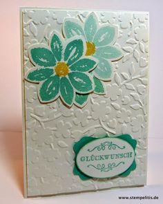 Stempelitis, Karte, Petal Potpourri, Blütenmedaillon, Stampin up Demonstrator, Geburtstagskarte