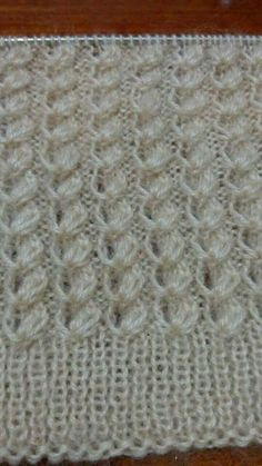 This Pin was discovered by hac This post was discovered by meral topal.) your own Posts on Unirazi. Baby Knitting Patterns, Knitting Stiches, Knitting Videos, Knitting Designs, Hand Knitting, Stitch Patterns, Crochet Coat, Crochet Motif, Knit Stitches
