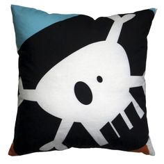 Our fun take on the Jolly Roger pirate flag will delight your little pirates and crew. Perfect for a toddler room, child's room or play area.