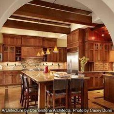 Nice warm friendly kitchen