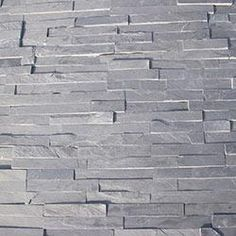 "Roterra Stone Siding - Slate Collection $2.59 SF Black Slate / Thin Stone 4""x18"" This is the sample I have. $2.59 / SF"