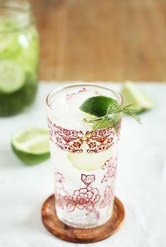 Cucumber-Dill Infused Vodka - Goes great w/ Lemonade