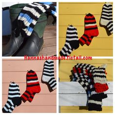 #wool #Stripes #woolsocks #knitting #hannamarja #handmade #crafts #villasukat #villasukka #raidat #itetehty #käsityöt