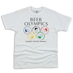 Beer Olympics Men's Tee @Laura Jayson Spence this is for you!