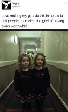Me as a parent and having twins.