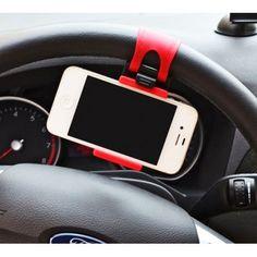 Kẹp điện thoại vô lăng xe hơi Office Essentials, Phone Holder, Apple Watch, Smart Watch, Buy Now, Smartphone, Car, Phones, Colour Black