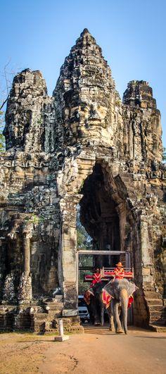 Angkor Wat, Siem Reap Camobida --www.GettingStamped.com
