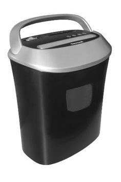 Honeywell 9112 Twelve Sheet Cross-Cut Paper Shredder by Honeywell. $93.90. From the Manufacturer                Honeywell 12 Sheet Cross Cut Shredder. Three function switch: Auto, forward and reverse. Shredder turns on automatically when paper is inserted. UL Listed. Shredder is capable of shredding CD's, DVD's, and Credit Cards as well as 12 sheets of paper at a time. Basket size is 5.5 gallons. Seperate inner basket for CD's and DVD's. Has lift up handle on top f...
