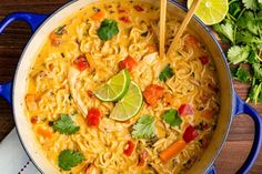 This Asian Chicken Noodle Soup Makes Everything Better - - Looking for an easy ramen chicken noodle? This Asian Chicken Noodle is the best. Asian Chicken Noodle Soup, Chicken Noodle Recipes, Ramen Soup, Thai Noodle Soups, Curry Ramen, Asian Noodles, Chinese Chicken Noodle Soup, Egg Noodles, Thai Soup