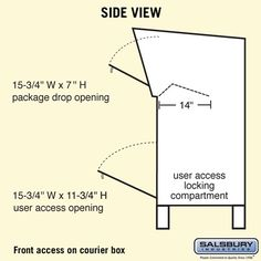 mailbox flag dimensions. Interesting Dimensions Courier Boxes Are Manufactured By Salsbury Industries And Available In  Three Colors Primer In Business Since Is Your One Stop Mailbox Company Mailbox Flag Dimensions 9