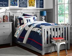 I love the Pottery Barn Kids Racecar Bedroom on potterybarnkids.com