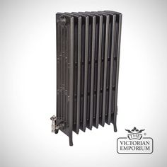 Buy Georgia radiator 6 column 960mm high, Victorian cast iron radiators - Our Georgia 6 column tall 960mm high cast iron radiators use a traditional Arts and Crafts design. We offer a choice of 3...
