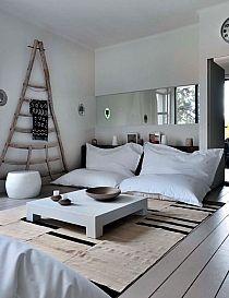 wohnzimmer skandinavisch einrichten kuhfell teppich | wohngzimmer ...
