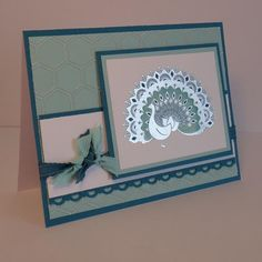 DD41: World Treasures Peacock by wiebergs - Cards and Paper Crafts at Splitcoaststampers