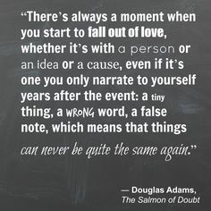 The Salmon of Doubt, Douglas Adams | 13 Times Books Perfectly Described Heartbreak