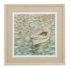 Pan Pacific 'On the Pond II' Framed Painting Print