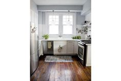 Piękne wnętrza: pomysł na małą kuchnię