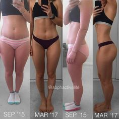 """Are you trying to make a transformation? Whats working for you?   @sophactivelife: """"HOW DID I ACHIEVE THIS?  I'm going to write a more detailed blog post about this (sophactivelife.com) but I had heaps of questions from last weeks transformation photo I posted so here's a bit of a breakdown. Please note this is what I did there are more than one way to achieve fat loss & muscle gain but this is what worked for ME    I was working 5-6 days a week 4-5 lifting days and 1 cardio day    counting…"""