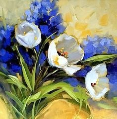 Nancy Medina Art: French Dream Tulips and a North Texas Workshop - Nancy Medina Art
