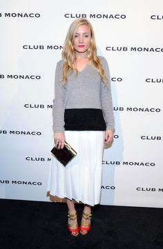 Kate Foley attends the opening celebration of Club Monaco's Fifth Avenue Flagship.