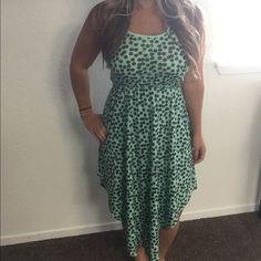 Green dress Great condition Xhilaration Dresses Midi