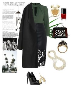 """""""Go away..."""" by honeyberrie ❤ liked on Polyvore featuring Milani, Yves Saint Laurent, Chanel, Mulberry and Smart Solar"""