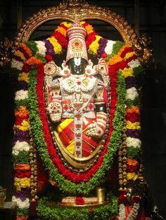 Tirupati venkateswara temple,Vishnu in the form of Lord Venkateshwara at Tirumala Venkateshwara also known as Venkatachalapathy or Srinivasa or Balaji, is the supreme God Lord Shiva Hd Wallpaper, Lord Krishna Wallpapers, Lord Vishnu, Tirumala Venkateswara Temple, Indian Temple, Lord Balaji, Image Hd, Image Form, Lord Murugan
