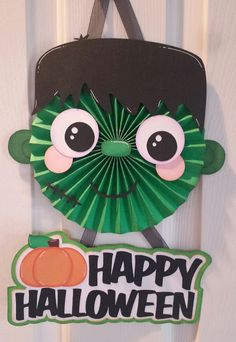 Paper Creations by Kristin: Frankie Stein - Halloween Wall Hanging