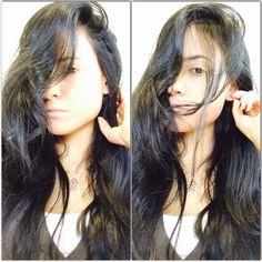 Messy Hair brunette