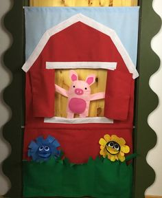 Doorway Puppet Theater With Scenes Book Buddy Activities