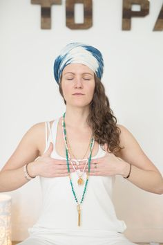 Free Weekly Meditation with YMC Meditation, Beaded Necklace, Mindfulness, Free, Collection, Fashion, Beaded Collar, Moda, Fashion Styles