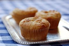 """almond flour muffins. so easy! trying right now... """"So why create this recipe at all?  Well, it is still versatile in two ways.  First, it is a wonderful template for a muffin recipe.  You can experiment by adding different flavor combinations including: date walnut, lemon poppyseed, dried cranberries with white chocolate chips, cinnamon raisin, and orange dark chocolate chip."""" ~ Elana Amsterdam"""