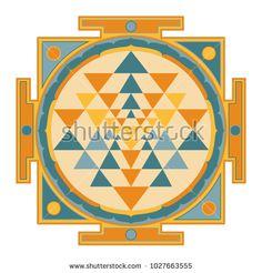 Sri Yantra Colorful