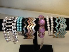 Assorted Bracelets: $18.00. Styles and colors not guaranteed. This item is currently at our Folsom Location. Call or Email for more information. Email: polkadotsproshop@gmail.com Phone: 916-791-9070