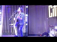 "Singer-Songwriter Lee DeWyze sings his own original ""You Don't Know Me""  at Universal City Walk, Hollywood, CA  - Saturday, April 6, 2013 - #5Towers Music Spotlight"