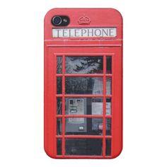LONDON, BRITISH, PHONE BOX, MOVILE CASE