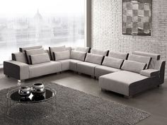 Canape d'angle tissu - PURA Canapé design et mobilier de luxe