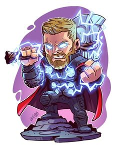 If you want more such pins and more marvel pins visit my board CHIBI Marvel Comics, Anime Comics, Chibi Marvel, Marvel Art, Marvel Heroes, Captain Marvel, Thor Marvel, Loki Thor, Chibi Superhero