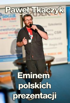 Bądź jak Eminem polskich prezentacji