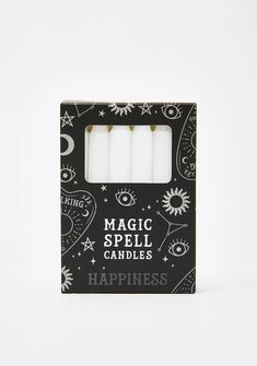 Free, fast shipping on Spell Check Magic Candles at Dolls Kill, an online boutique for punk and streetwear fashion. Candle Spells, Candle Magic, Candle Set, Soy Candles, Scented Candles, Chia Pet, Head Planters, Decorative Planters, Dragon Statue