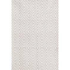 Diamond Hand-Woven Gray/White Indoor/Outdoor Area Rug & Reviews | AllModern