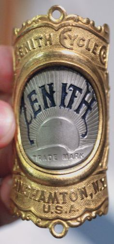 great headbadge from Zenith Cycle Co.