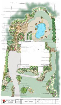 48 best Landscaping Plans images on Pinterest | Landscape ...