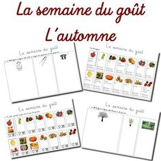 Here is a series of sheet to work the fruits and vegetables of Autumn . Kindergarten Science Activities, Autumn Activities, Maternelle Grande Section, School Organisation, Petite Section, Education Humor, Wedding Tattoos, Fruits And Vegetables, Science Nature