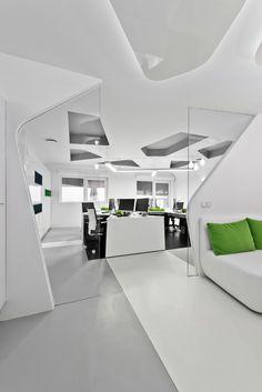 """Skytech Office by Vaida Atkocaityte & Akvile Mysko-Zviniene """"Location: Vilnius, Lithuania"""" 2013"""