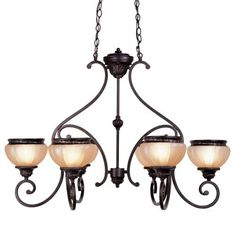 Aladdin Chandelier (LVX-8516-47). Aladdin - Chandelier - Rustic Copper - 38 L x 25.5 x 27 Product Specifications Fixture Type Chandelier Collection Aladdin Finish Rustic Copper Glass Hand Painted Sculpted Dimensions 38 L x 25.5 x 27 Wattage 6x60W.. . See More Chandeliers at http://www.ourgreatshop.com/Chandeliers-C1008.aspx