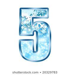 Winter Alphabet Number 5 five Frozen Party, Elsa Frozen, Alphabet, Happy Birthday, Number 5, Winter, Cartoon, Design, Frozen Birthday Party
