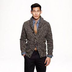 Wallace & Barnes Donegal cardigan at J Crew in Ionia - 36204253