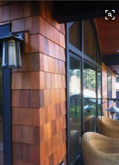 Cedar Shingle Siding, Cedar Shake Siding, Cedar Shingles, House Siding, Exterior Siding, Exterior Paint, Exterior Design, House Shingles, Vinyl Shake Siding