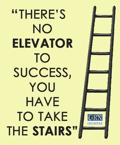 Keep on climbing the stairs! #success #motivation